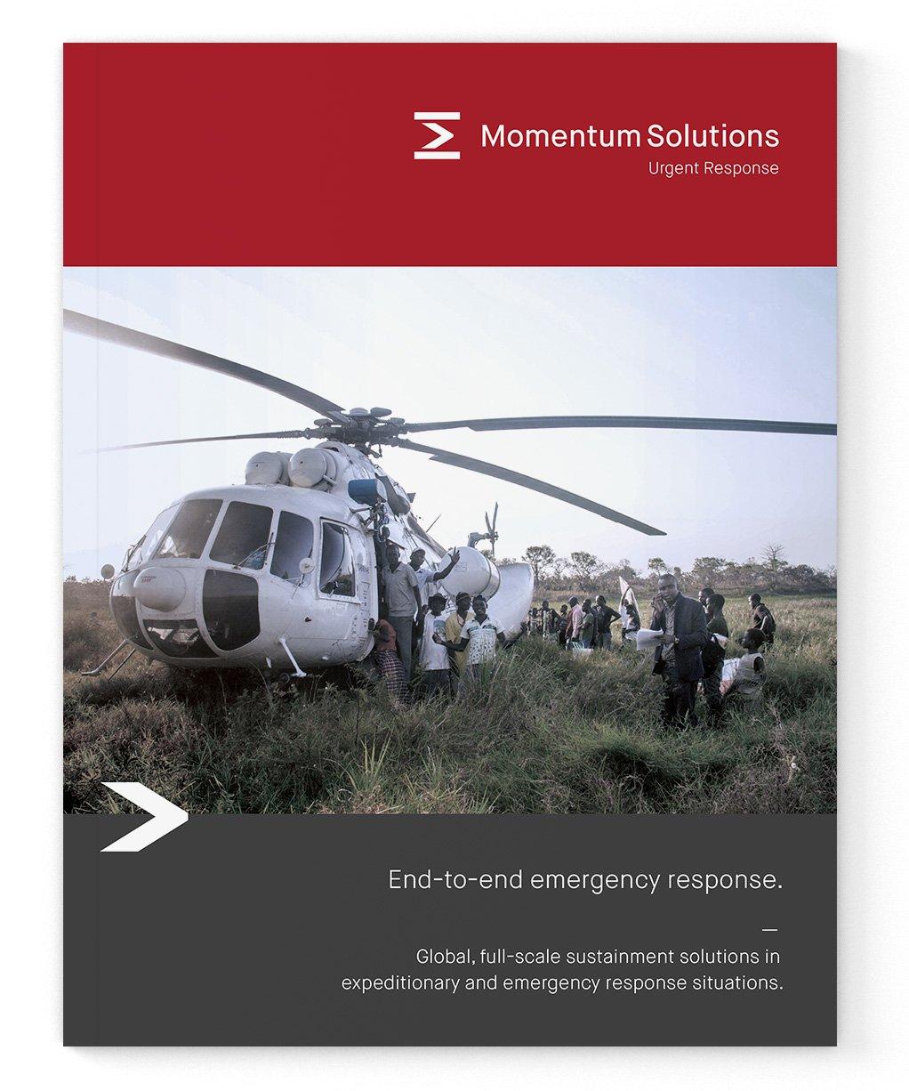 Urgent response branding booklet design