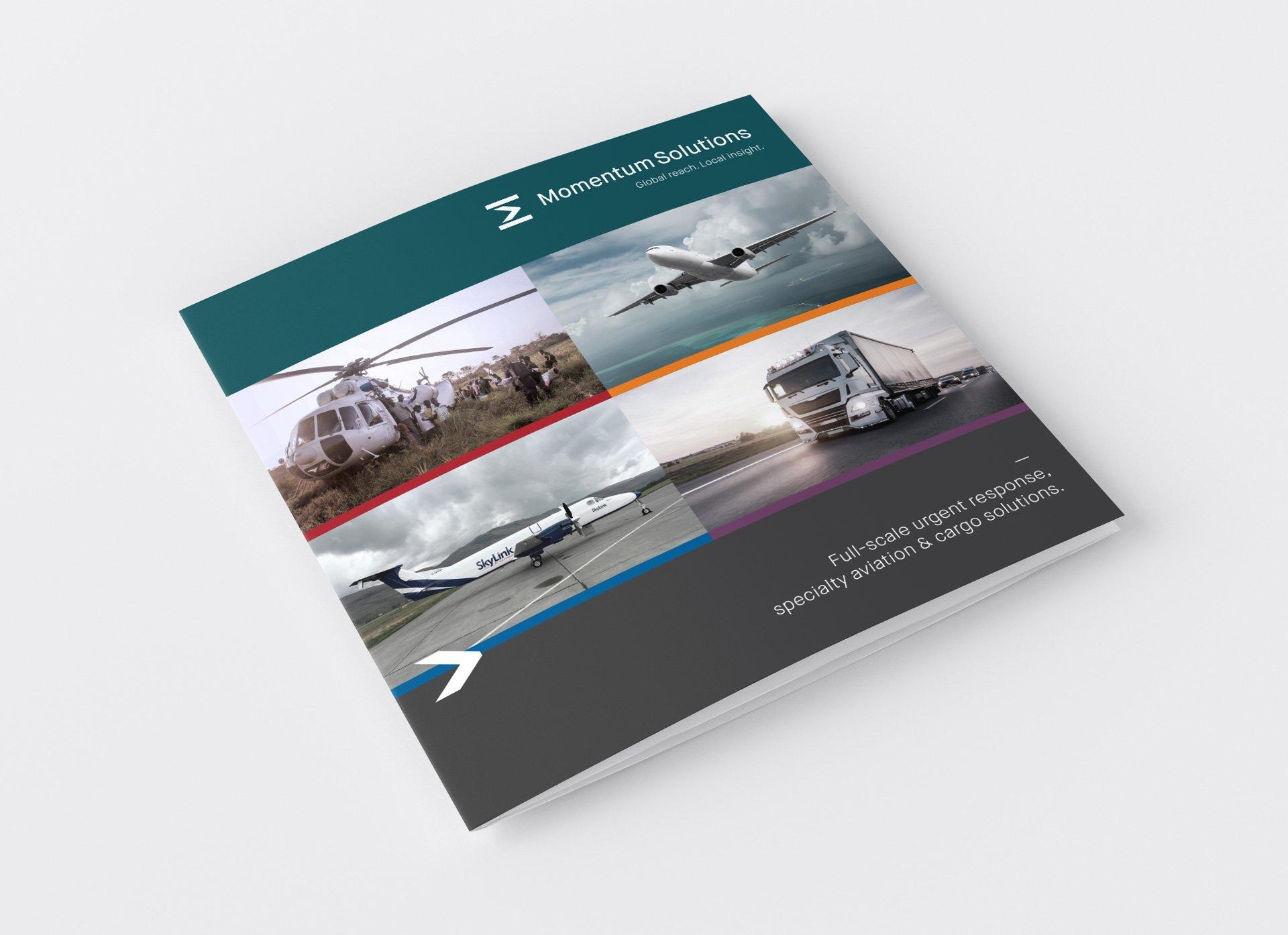 Momentum Solutions brochure design