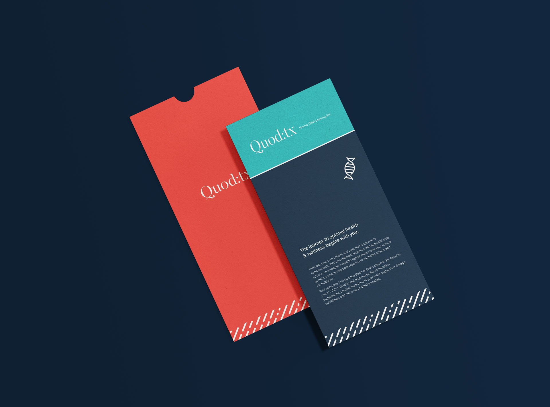 Quod:TX collateral material design