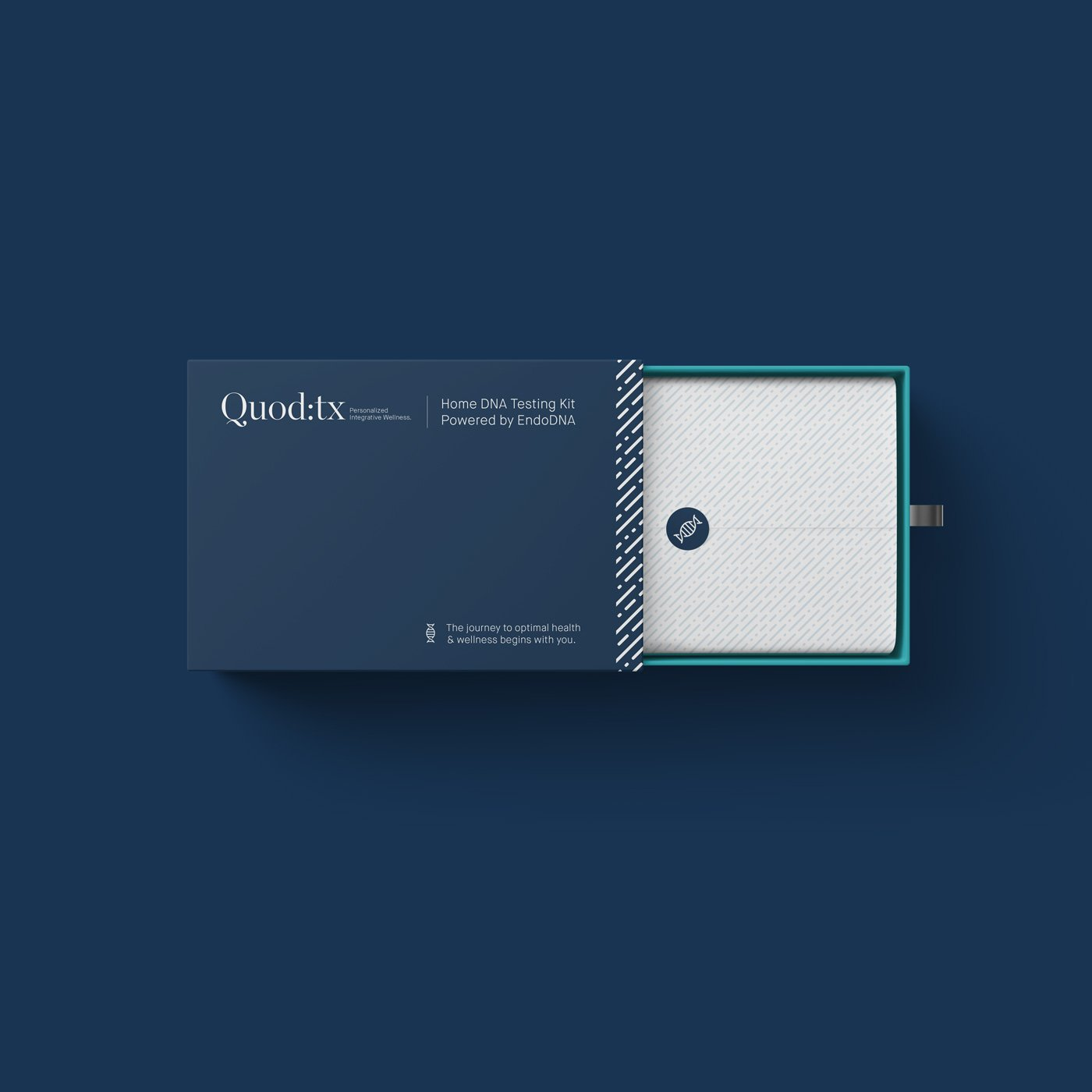 Quod:TX DNA kit packaging