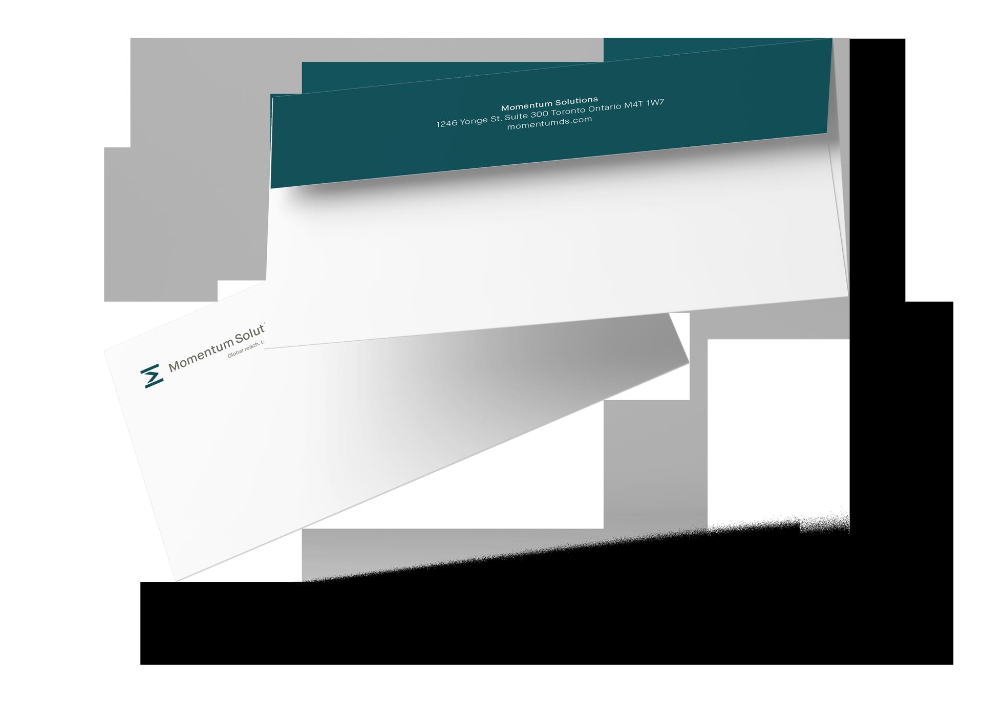 momentum solutions envelope design