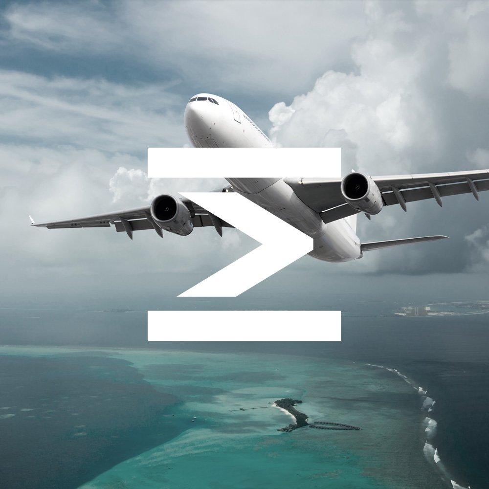 Aviation logistics brand identity design