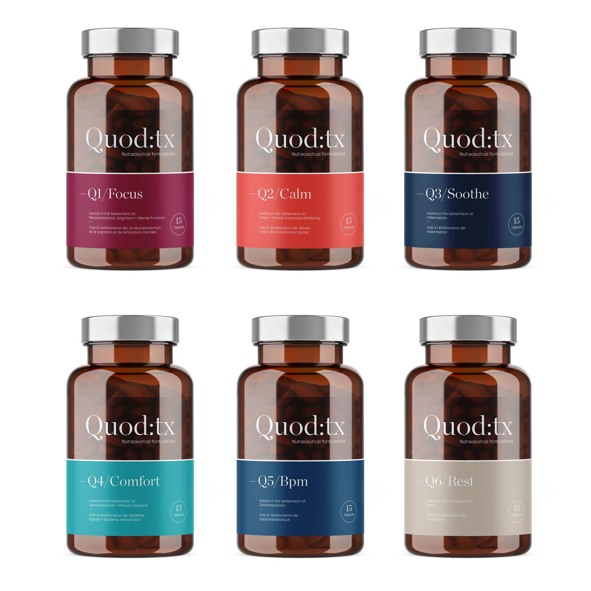 Quod:TX nutraceutical packaging