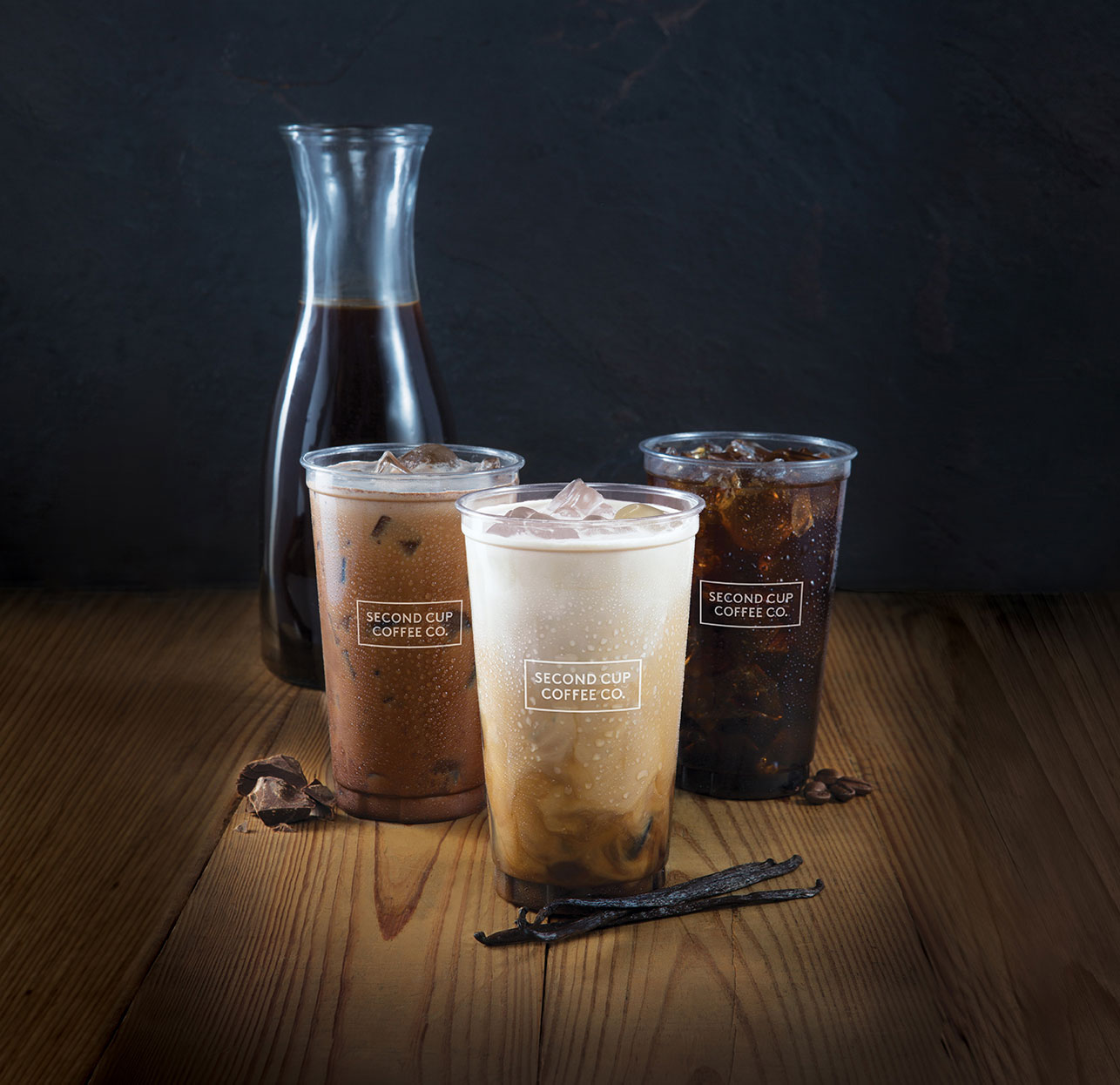 Flash Cold Brew three flavours