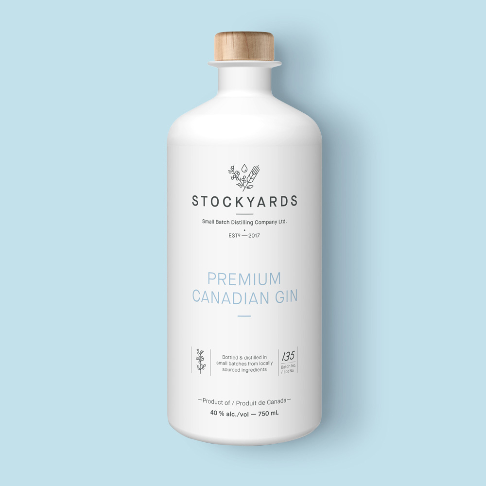 Stockyards Small Batch Gin bottle