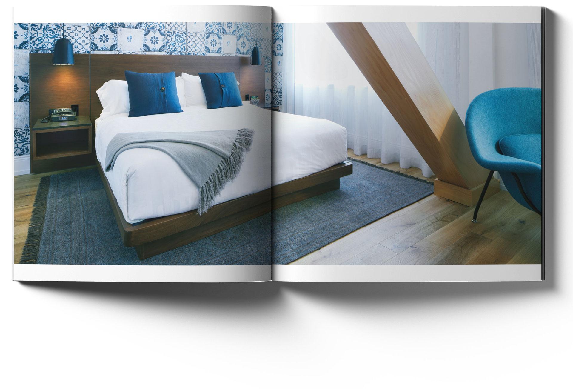 Walper Hotel look book spread