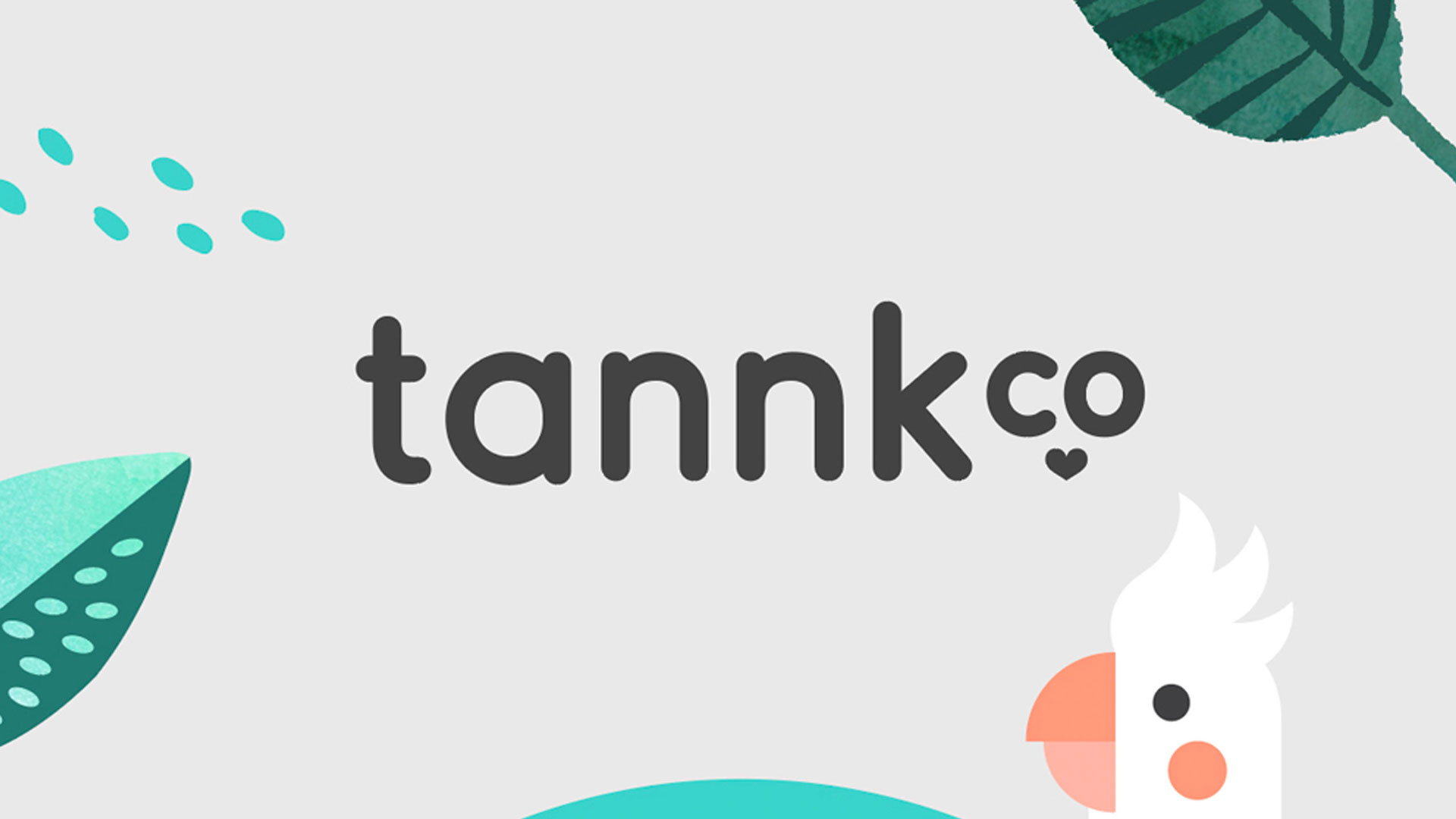Tannk Co illustrations and logo